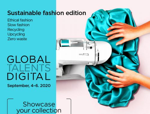 Global Talents Digital is looking for sustainable emerging designers from all over the world